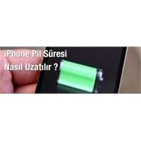 İphone Pil Süresi Nasıl Uzatılır ?