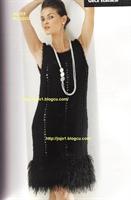 Örgü Elbise Modeli