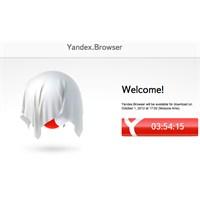 Yandex'in Tarayıcısı Bugün Görücüye Çıkıyor!