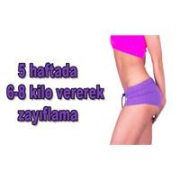 5 Haftada 6-8 Kilo Zayıflama