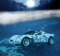 Suyun Altında Gidebilen Otomobil