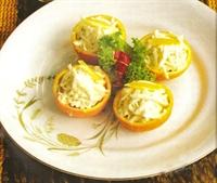 Portakal İçinde Kereviz Salatası