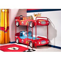 Çocuk Odalarına Arabalı Ranza