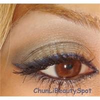 Kahve & Mavi Göz Makyajı Uygulaması