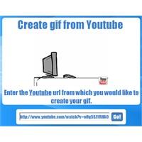 Youtube Videosunu Gif Yapma