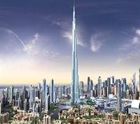Dünyanın En Yüksek Binası Burj Dubai