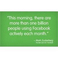 Facebook'ta 1 Milyar Kullanıcı Yok