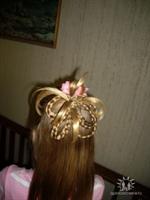 Çocuklar İçin Yarım Topuz Saç Modelleri