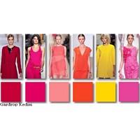 2012 İlkbahar- Yaz Renk Trendleri