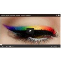 Gökkuşağı Eyeliner # Rainbow Make-up