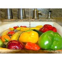 Meyve Ve Sebzeleri Yıkama