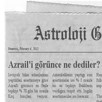 Hangi Burçlar Azrail'i Görünce Ne Dedi?