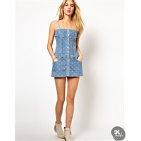 Yeni Moda : Kot Elbise Modelleri