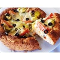 Bayatlamış Ramazan Pidesinden Pizza