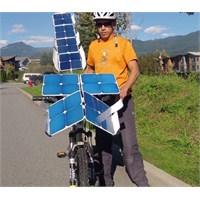 Güneşten Güç Alan Bisiklet