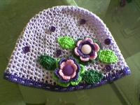 Bebeklere Sevimli Örgü Şapka Ve Bandana Yapımı