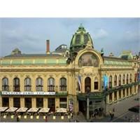 Prag'ın Dünyaca Ünlü Konser Saloanu Municipcal Hou