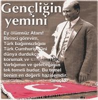 Ey Türk Gençliği! Ata nın Gözünü Arkada Bırakma!
