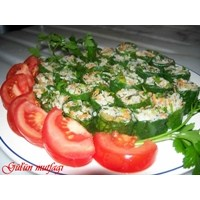Pazılı Pirinç Salatası Yalancı Suşi