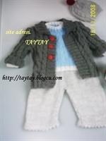 Bebek Örgü Hırka Modeli