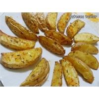 Fırında Baharatlı Patates/ Fatosca Tadlar