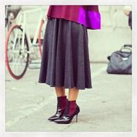 Gri Modası Ve Dünya Sokaklarından Trend Kareleri