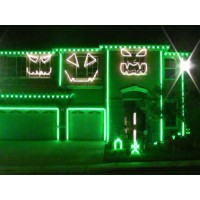 Halloween Light Show 2011 – Party Rock Anthem