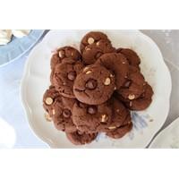 Beyaz Çikolatalı Kurabiye - Yogurtkitabi.Com