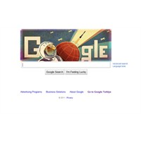 Google'ın Son Logosu Yuri Gagarin İçin!