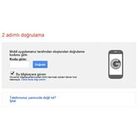 Google Hesap Güvenliğinizi Arttırın: Kodmatik