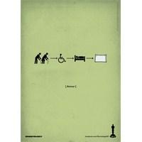 Harika Oscar Piktogram Film Afişleri