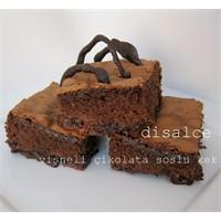 Çikolata Soslu, Vişneli Kek(Turta) ..Disalce