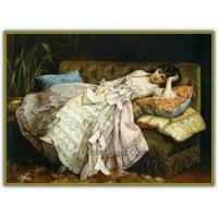 Auguste Toulmouche | Fransız Neoklasik Ressam