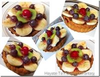 Çikolata Kremalı-meyveli Mini Tartlar