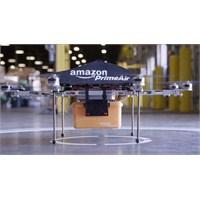 Amazon Kargoları İha'larla Teslim Edecek