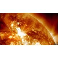 Güneş'te Fırtınalar Kopuyor