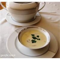 Terbiyeli Mantar Çorbası