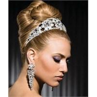 Gelin Saç Modelleri 2012