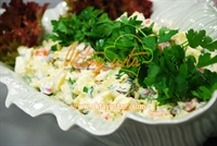 Sosisli Lahanalı Patates Salatası
