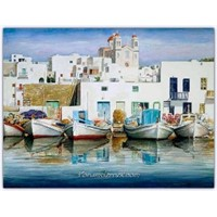 Suluboya Resimlerle Yunanistan - Pantelis Zografos