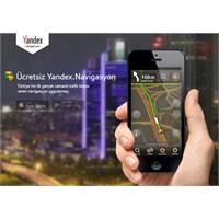 Yandex.Navigasyon Android Ve İphone İçin Çıktı!