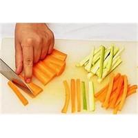 Acemi Olanlar İçin Sebzeleri Doğrama Şekilleri