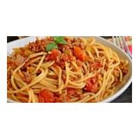 Bolonyez Soslu Spagetti