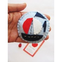 Keçe Denizci Buzdolabı Magnet 2