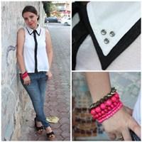 Ne Giydim: Yakası Zımbalı Gömlek