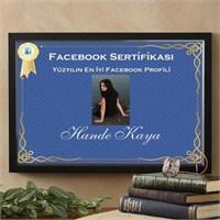 Kişiye Özel En İyi Facebook Profili Sertifikası