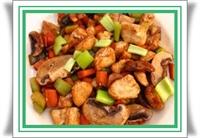 Diyet Yemeği - Çin Usulü Sebzeli Tavuk
