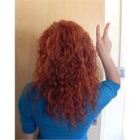 Evde Kızıl Saç Boyama