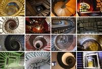 Dizayn Şaheseri Merdivenler (aşağı Doğru Bakınız