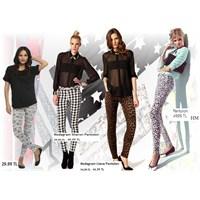 Desenli Ve Baskılı Pantolonlar Pek Moda